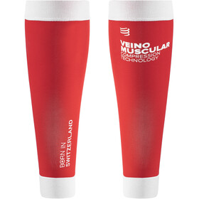 Compressport R2V2 Calf Sleeves Ironman Edition Smart Red